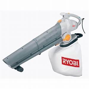 Aspirateur à Feuilles électrique : aspirateur souffleur broyeur ~ Edinachiropracticcenter.com Idées de Décoration