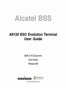 9130 Bsc Evolution Terminal User Guide B9 Ed3