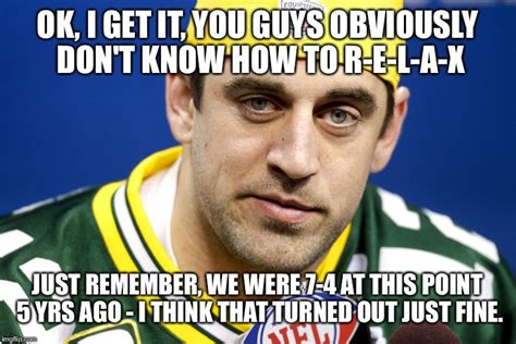 Aaron Rodgers Memes - aaron rodgers lol imgflip