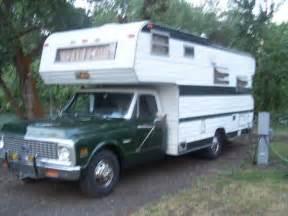 1972 Chevy Truck Camper