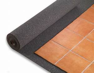 Isolant Thermique Mince Sous Carrelage : insonorisation murs plafond et sol objectif silence ~ Edinachiropracticcenter.com Idées de Décoration