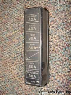87 Rx7 Fuse Box by Bmw E32 E34 525i It 530i 540i 740i Fuse Box Cover Oem On