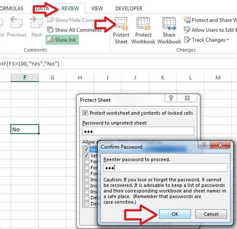 how to lock cell and protect sheet in excel excelhub