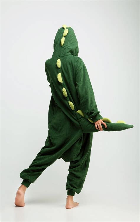dinosaur adult kigurumi onesie contacts