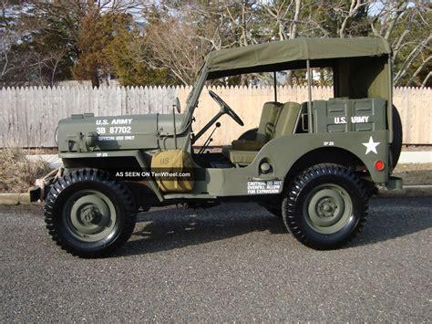 willys army jeep willys 1963 cj3b army m606 style vietnam military type