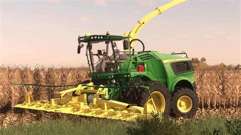 Fs19 John Deere 9000 Us Forage Harvestor V10