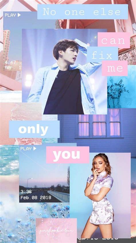 Jeon Jungkook & Jade Thirlwall - Blue, Pink, Purple ...