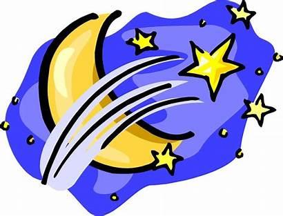 Moon Clipart Stars Clip Sun Space Shoot