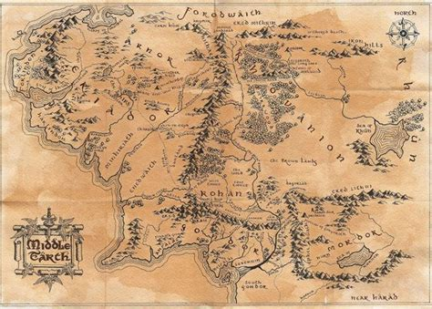 image result  map  middle earth tattoo inspirations