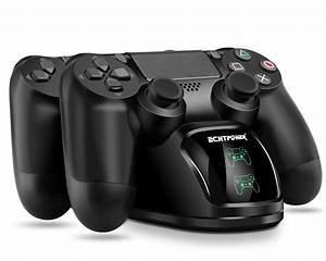 Echtpower Ps4 Controller Charger Ps4 Charging Dock  Dual