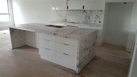 carrara marble kitchen island carrara marble kitchen and island bench installation 5127