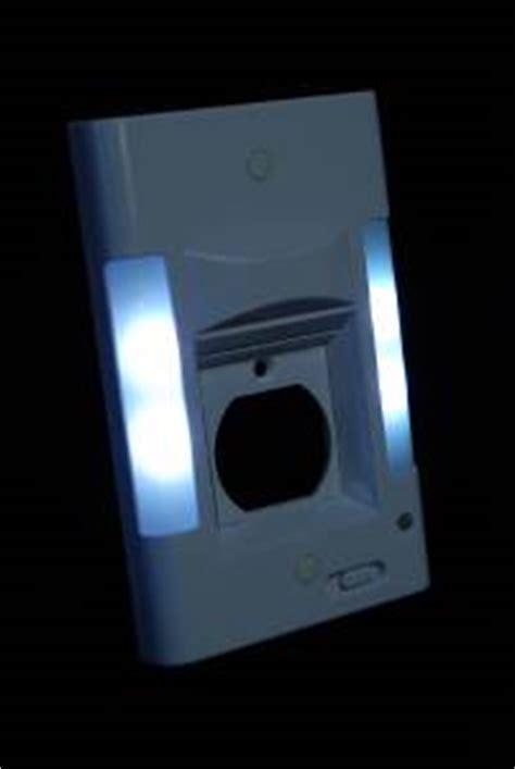 capstone led wall plate night light power failture