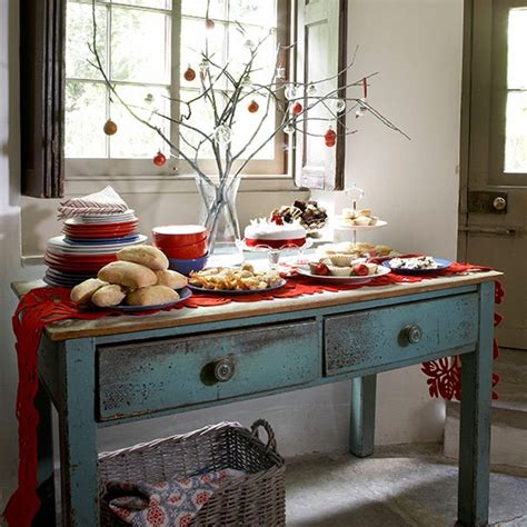 country lunch ideas buffet table setting ideas memes