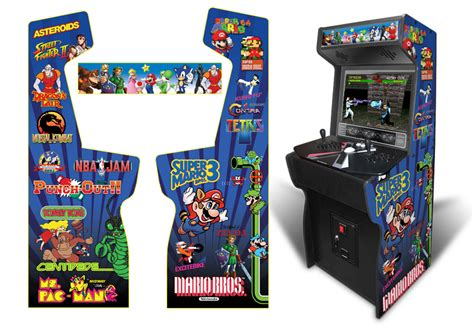 Xtension Arcade Cabinet Graphics by 187 Customer Submitted Custom Permanent Size Classic