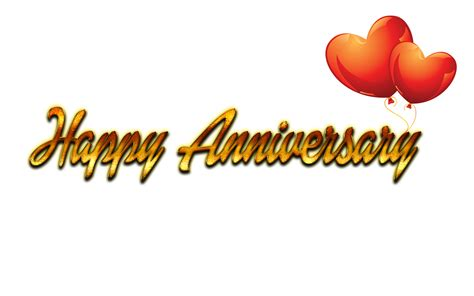 happy anniversary text png