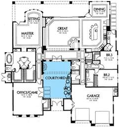 central courtyard house plans best 20 courtyard house plans ideas on