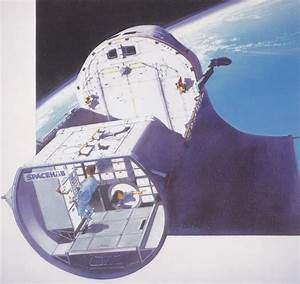 SpaceHab Module