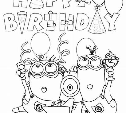 Coloring Pages Aunt Happy Mickey Mouse Birthday