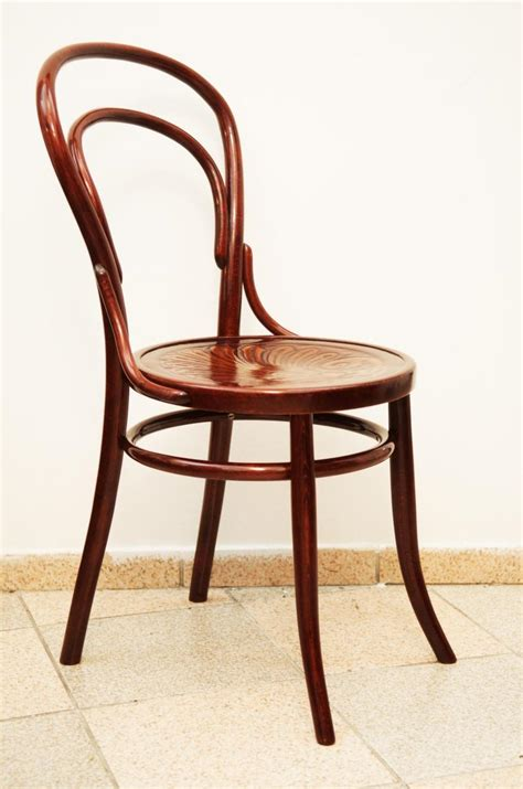 chaise italienne beech bentwood chair 1900 for sale at pamono