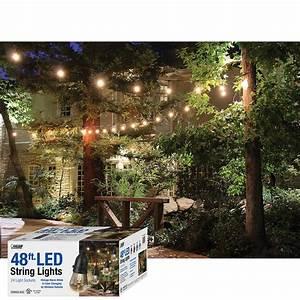 Light Socket Cord Set Feit 48ft Led Outdoor Weatherproof Color Changing String