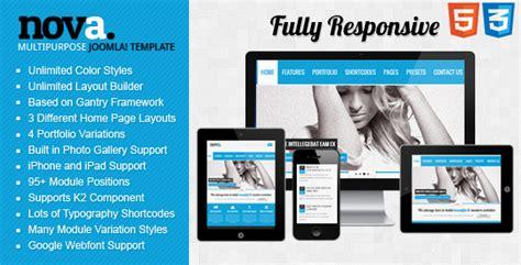 responsive joomla template file nova multipurpose responsive joomla template by dmsumon