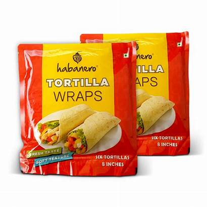 Tortilla Pack Habanero Tortillas Wraps