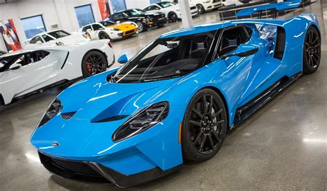 Story Behind the Riviera Blue 2017 Ford GT