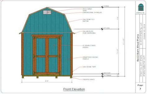 plans  build   barn shed