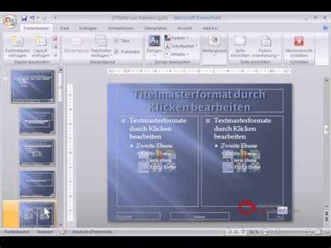 powerpoint praesentation tutorial deutsch folienmaster