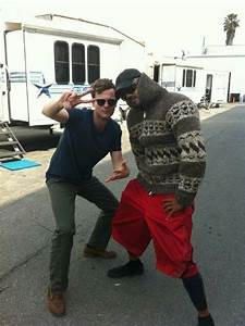 Matthew Gray Gubler & Shemar Moore......i don't even ...
