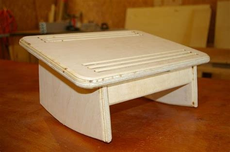 under desk foot stool under desk foot rest prototype by michaelray