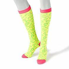 Neon Tie Dye Tube Socks 3 Color Options