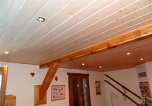 Lambris Pvc Pour Plafond : installation de lambris sur mur et plafond fourniture et ~ Dailycaller-alerts.com Idées de Décoration
