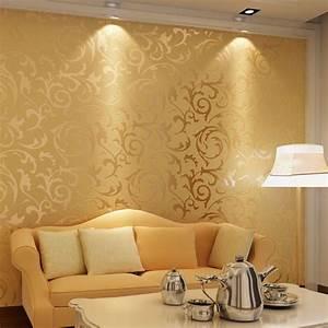 Tapete Dunkelgrün Gold : luxus 3d optik vliestapete barock ornament wandtapete wand ~ Michelbontemps.com Haus und Dekorationen