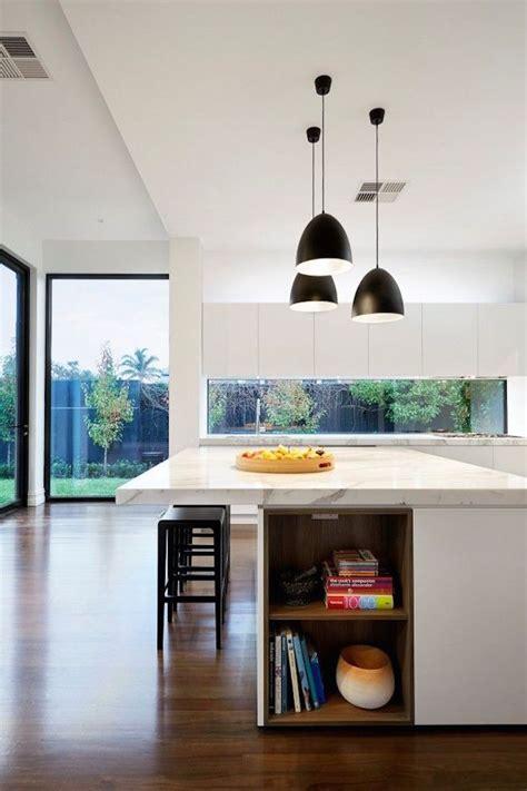 kitchen island with shelves small cookbook shelf area inside large contemporary kitchen island decoist
