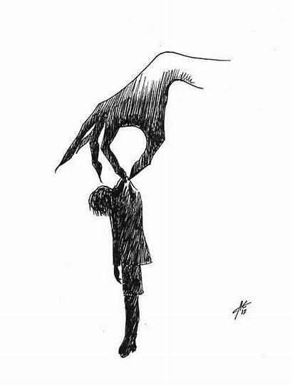 Drawings Depression Easy Dark Simple Break Drawing