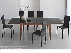 Table Bois Metal Avec Rallonge : cb4702 v 130 fly table extensible connubia calligaris en bois avec plateau en verre 130 x 90 ~ Melissatoandfro.com Idées de Décoration
