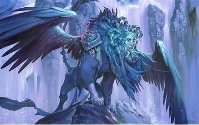 Sphinx Magic Fantasy Gathering Artwork Prognostic Backgrounds