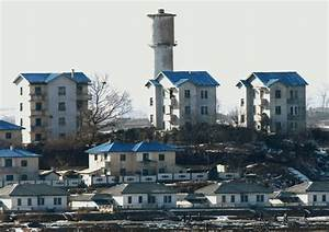 Deserted Places: Peace village, the empty North Korean ...
