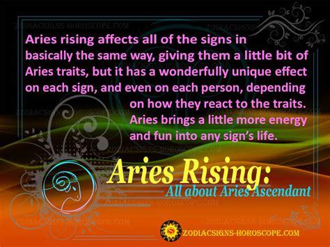 aries rising sign personality traits aries ascendant ascendants