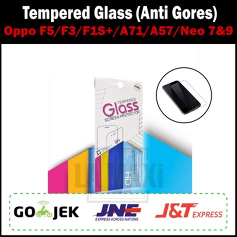 Anti Gores Oppo Neo jual tempered glass oppo anti gores oppo antigores kaca