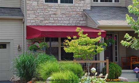porch awnings aluminum porch awning awnings  porch
