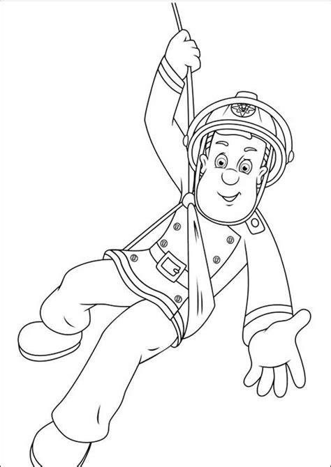 Ausmalbilder Feuerwehrmann Sam 26  Ausmalbilder gratis