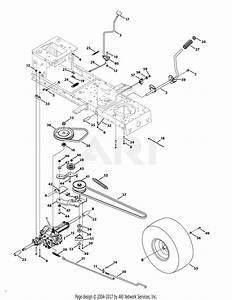 Mtd 13aj775g059  2009  Parts Diagram For Transmission