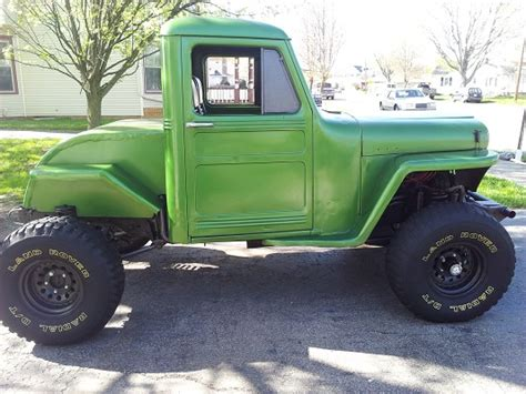 willys jeep truck lifted 1946 jeep willys 4 800 possible trade 100577631