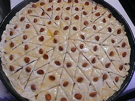 recettes cuisine simples et rapides recette de baklawas simple et rapide