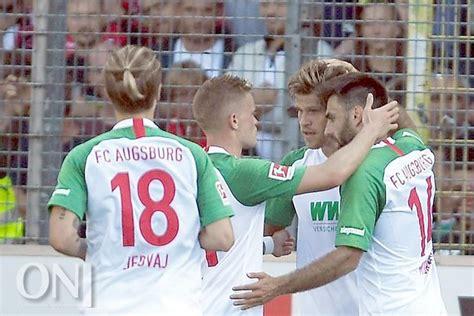 Sieg gegen augsburg freiburg stürmt richtung europa. Pech gegen Augsburg: SC Freiburg verpasst Tabellenführung ...