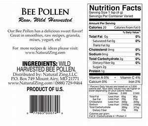 Bee Pollen Nutrition Facts Calories