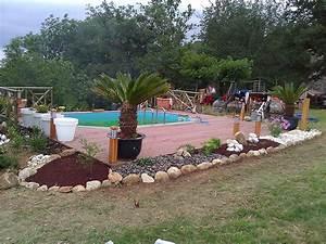 jardinier paysagiste prades amenagement creation et With amenagement jardin avec piscine 14 albizia plantation taille et entretien