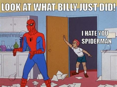 60s Spiderman Meme - image 120820 60 s spider man know your meme